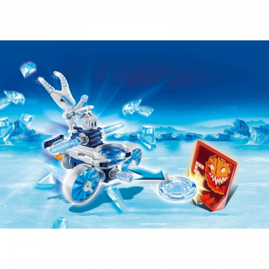 PLAYMOBIL ICEFIGHTER ΜΕ ΕΚΤΟΞΕΥΤΗ ΔΙΣΚΩΝ 6832