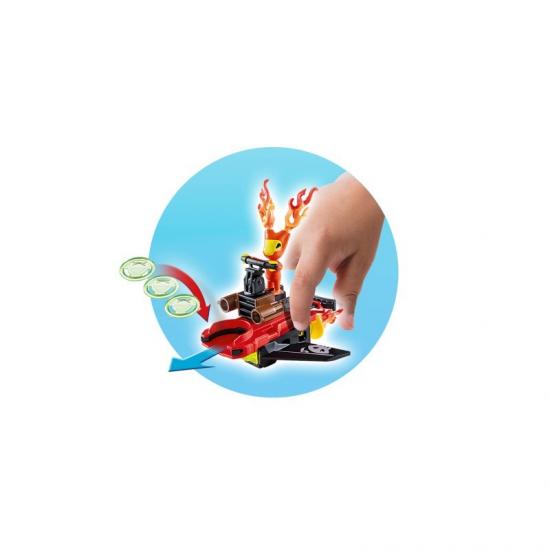 PLAYMOBIL FIREFIGHTER ΜΕ ΕΚΤΟΞΕΥΤΗ ΔΙΣΚΩΝ 6834